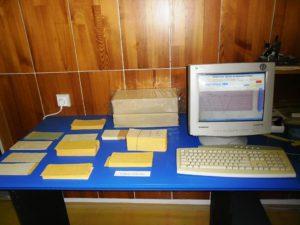 Dierne štítky s emuláciou dierovania na obrazovke