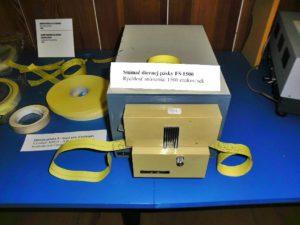 Snímač diernej pásky