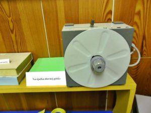 Navíjačka diernej pásky