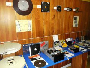 Expozícia Magnetické disky - diskety