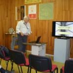 Štefan Kohút pri prednáške